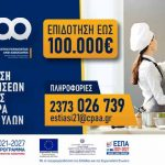 Επιδότηση εστίασης: Νέα Δράση ΕΣΠΑ επιδότησης κεφαλαίου κίνησης στις επιχειρήσεις εστίασης